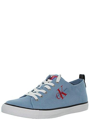 S1483 Klein Baskets Homme Sportive Rouge Arnold En Et Jeans Calvin Chaussure Céleste YOgqxFaZF