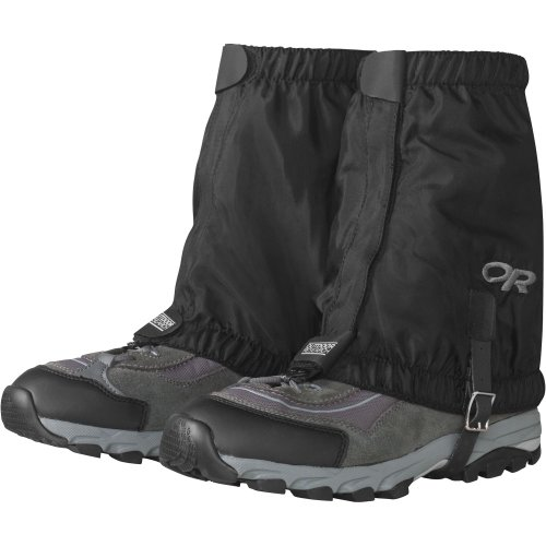 Outdoor Research Men's Rocky Mountain Low Gaiters, Black, Large/X-Large