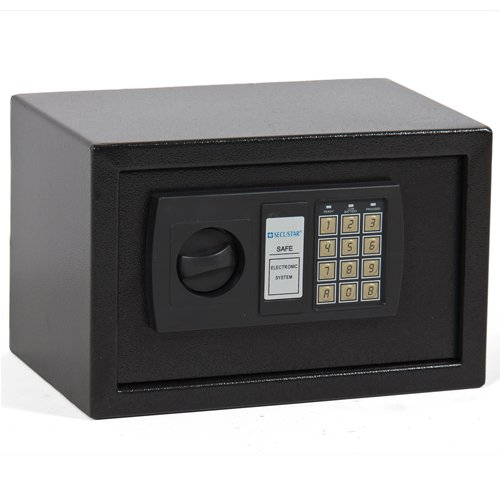 Best Choice Products SKY163 0.3CF Electronic Digital Lock Keypad Safe Box Home Security Gun Cash Jewel Black by Best Choice Products
