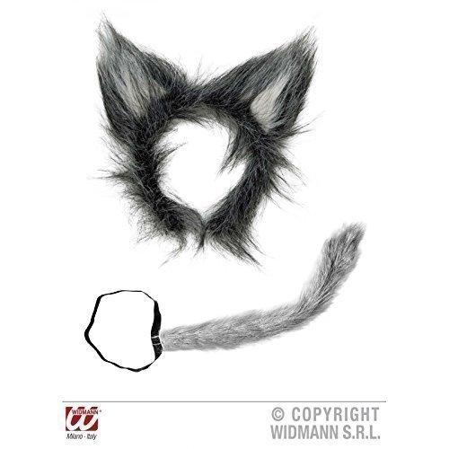 Amato Set lupo peluche 2-pezzi coda e orecchie da lupo: Amazon.it  RQ98