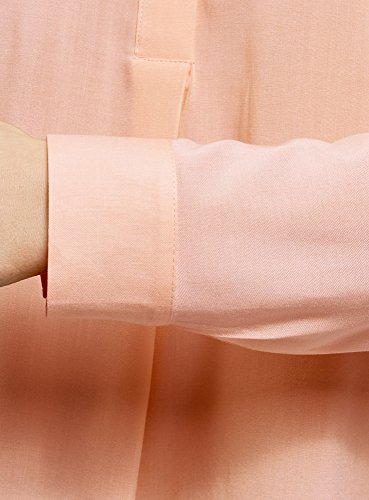 Blusa 5400n De A Rosa En Viscosa Collection Oodji Mujer Silueta BzWF4zq1