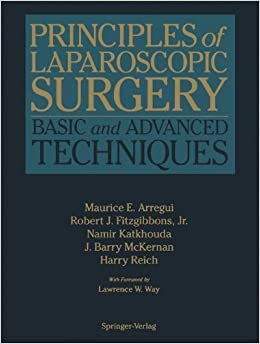 Book Principles of Laparoscopic Surgery: Basic and Advanced Techniques