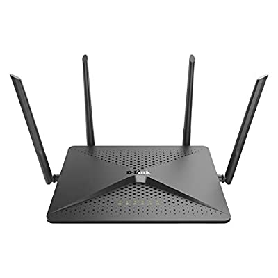 D-Link EXO AC2600 MU-MIMO Wi-Fi Router - 4K Streaming and Gaming with USB Ports, 4x4 Dual Band Wireless Router (DIR-882-US)