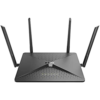 D-Link Exo Wifi Router AC2600 MU-Mimo - 4K Streaming and Gaming with USB Ports, 4x4 Dual Band Wireless Router (DIR-882-US)