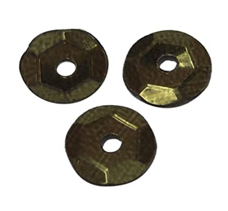 087da5adbbc Angel Malone 15g Approx.1200pcs of 6-7mm DK OLIVE GREEN Cup Sequins ...