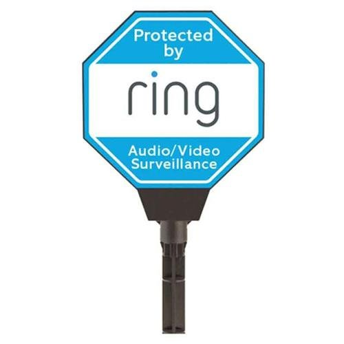 Tools & Hardware : Ring Solar Security Yard Sign, Blue