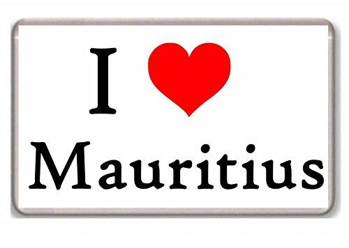 mauritius fridge magnet - 3