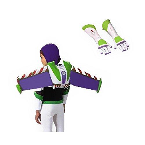 Toy Story Buzz Lightyear Jet Pack Costume Bundle Set -