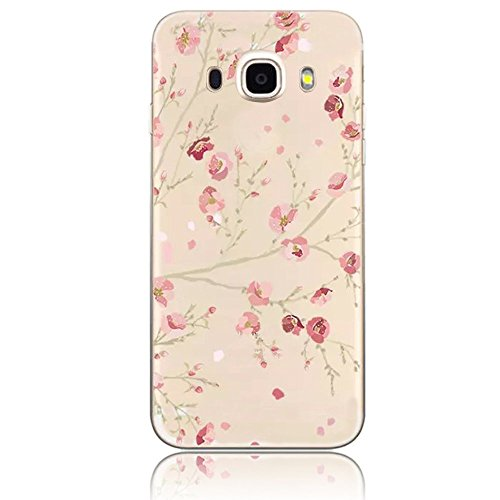 Carcasas para Galaxy J7 (2016) Fundas Sunroyal® Reflexión Brillante Lujo Espejo Carcasa para Samsung Galaxy J7 (2016) J710 Funda Aluminio Carcasa Metal Mirror Bumper Phone Case Hard Cover With Frame C A-01