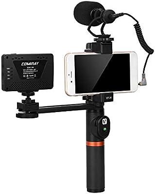 TOPTOO ViewFlex VF-H6 Smartphone Rig Handle Grip Handle Stabilizer ...