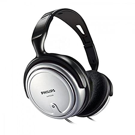 0b372fb3168 Philips SHP2500/10 Indoor Corded TV Headphone - Gray: Amazon.co.uk:  Electronics