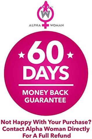 Alpha Woman PM - Nighttime Relaxation Formula - Relieve Stress, Reduce Food Cravings, Promote Healthy Libido - Vegan & Keto Safe -60 Capsules 5