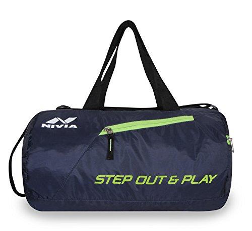 Nivia Deflate Round – 01 Bag (Navy Blue)