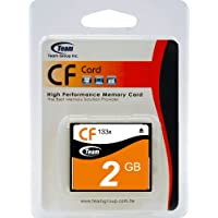 2GB Team CF Memory Card High Performance 133x For CANON EOS D60 ELPH IXUS. This Card Comes with Lifetime Warranty.