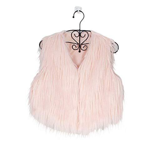Donna Invernali Abbottonatura Morbidi Marca Casual Di Ecopelliccia Fashion Rosa Cappotto Eleganti Calda Mode Corto Giacche Outerwear Termico Pelliccia Autunno Giacca Accogliente 6qwUr6
