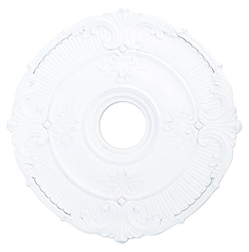 Livex Lighting 82031-03 Buckingham Ceiling Medallion, White