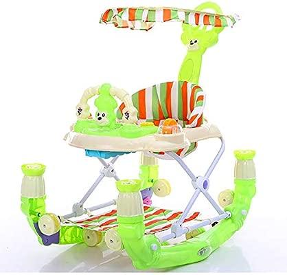 FCH123 Andador De Bebé Plegable Toldo Desmontable Andador De ...