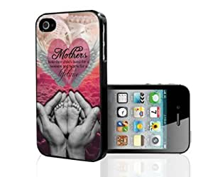 Pink Breast Cancer Awareness Hard Snap on Phone Case with Quote (iPhone 5c) by icecream design