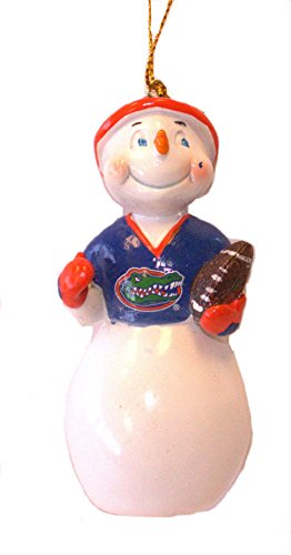 Florida Gators Jock Frost Snowman Ornament (Ncaa Florida Gators Snowman)