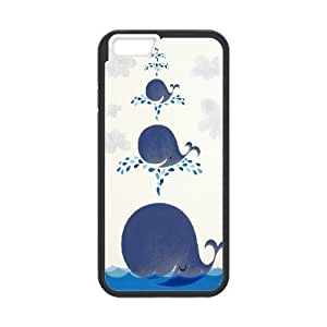 "Dolphins Design Unique Customized Hard Case Cover for iPhone6 4.7"", Dolphins iPhone6 4.7"