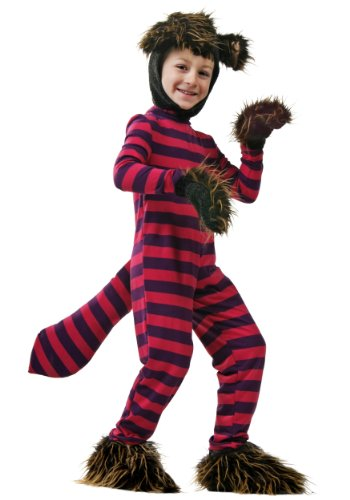 Fun Costumes Big Girls' Cheshire Cat Costume Large