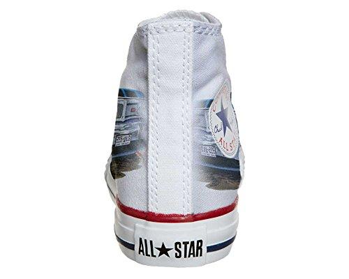 Converse Personalizzate All Star Sneaker Unisex (Scarpa Artigianale) Chevrolet