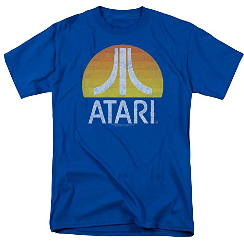 Atari- Distressed Sunrise Logo T-Shirt