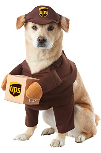 California Costumes UPS Pal Pet Halloween Costume, (X Small Dog Costumes)