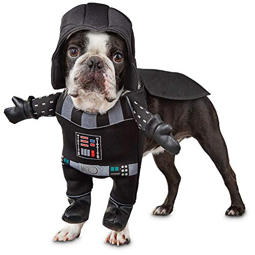 Small Dog Costume - Puppy Halloween - Star Wars Dog Costume - Darth Vader Costume for Dogs - Cutest Puppy -