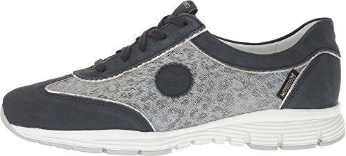 Navy Mephisto Grey Nickel Print Light Bucksoft Women's Magic Oxford Yael qUawtU4Z