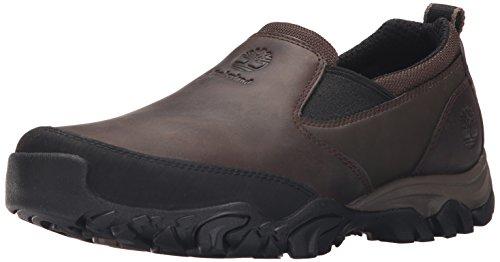 Timberland Men's MT Abram Slip-On Walking Shoe, Dark Brown, 10.5 M US