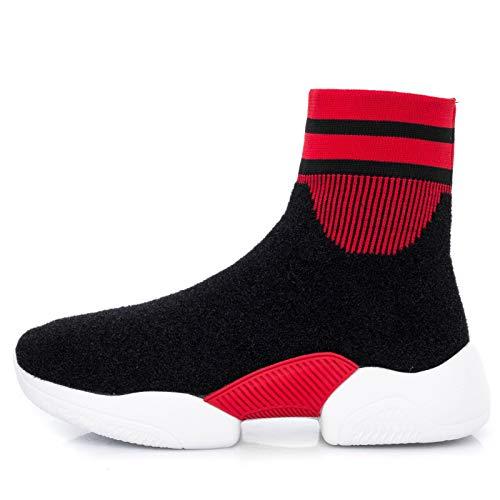 Calcetines de Botas gules Botas otoño Señoras Deportivo Calzado Calzado Deportivo Punto de elásticos Lucdespo Calcetines 7ZXCqna4W4