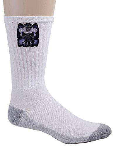 Crew Socks - The Witch of Arendelle - Parody Design (Wicked Witch Of The West Socks)