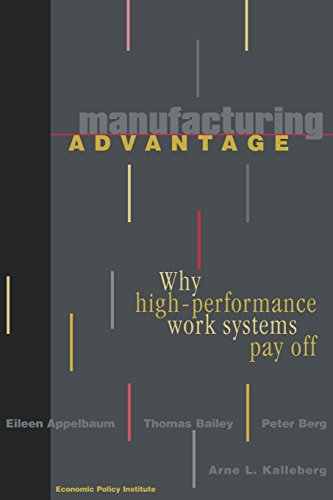 Manufacturing Drop: Why High Performance Work Systems Pay Off (ILR Press Books)