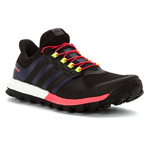 adidas Adistar Raven Boost W - Zapatillas para mujer Black/Flash Red