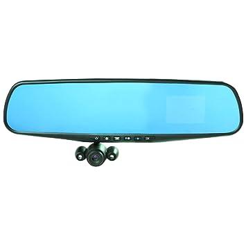 HD Mirror Cam Espejo Retrovisor Cámara Video Coche Automóvil ...