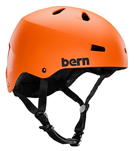Macon Helmet Matte - Bern Helmets - Bern Macon H20 Helmet - Matte Or...