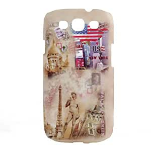 TOPMM Ancient Design Printing Plastic Hard Case for Samsung Galaxy S3 I9300 (Multi-Color)
