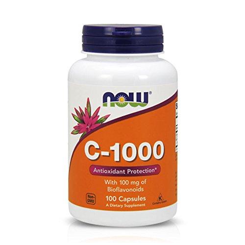 NOW Vitamin C-1000,100 Veg Capsules