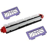 Vacuum Cleaner Replacement Combo Brush & Hepa Filter Brush Tool Kit for Neato XV11 XV12 XV14 XV21