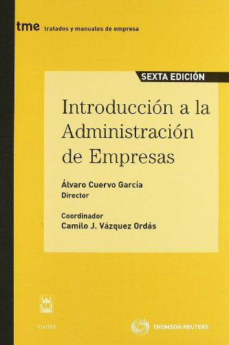 Descargar Libro Introducción A La Administración De Empresas: Incluye Cd Álvaro Cuervo García