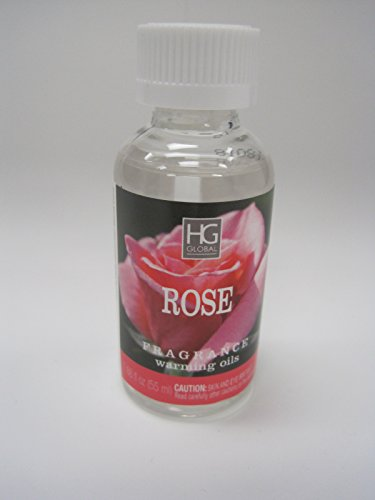 Hosley's Premium Rose Highly Scented Warming Oils-Box of 5 / 55 ml (1.86 fl oz) ea. BULK BUY. Ideal GIFT for Weddings, Spa, Meditation, Bathroom Settings W1 (Oil Diffuser Warming)