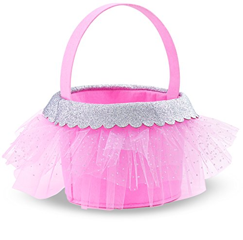 Mud Pie Tulle Candy Basket