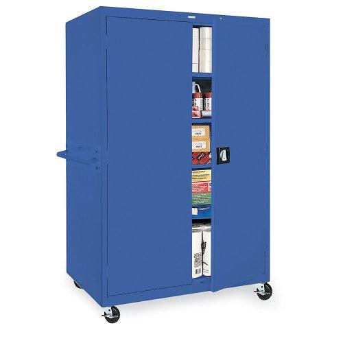 Sandusky Lee TA4R462472-05 Transport Mobile Storage 4 Shelves, 46