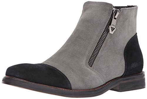 GUESS Men's Joris Chelsea Boot, Pewter, 8 Medium - Boots Guess Grey