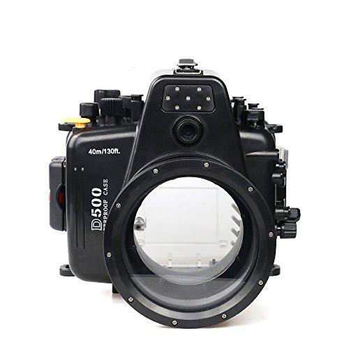Polaroid SLR Dive Rated Waterproof Underwater Housing Case For The Nikon 80D With 105mm Lens
