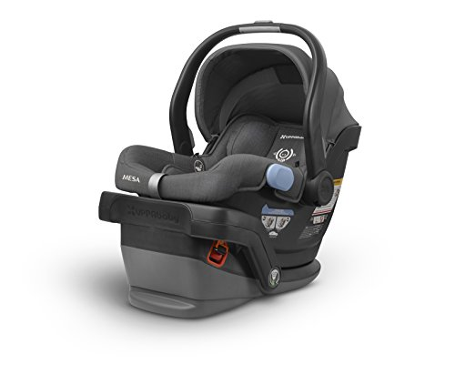 Cheap UPPAbaby MESA Infant Car Seat -Jordan (Charcoal Melange)Merino Wool Version/Naturally Fire Ret...