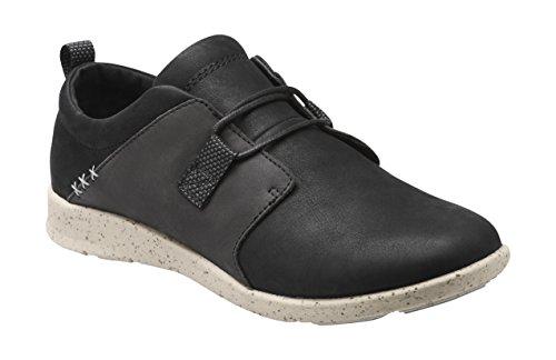 Superfeet Birch Women's Casual Comfort Shoe, Black, Full Grain Leather, Women's 8 US -