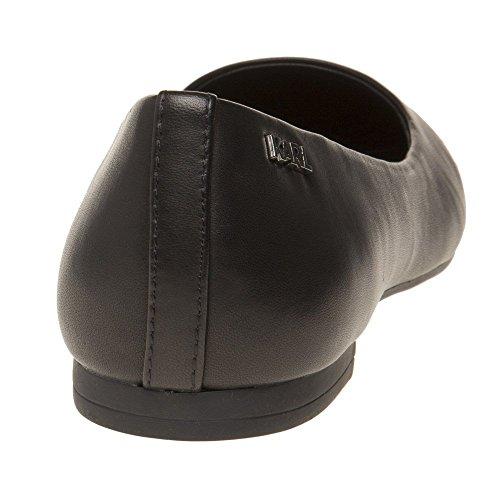 Pump Mujer Lagerfeld Karl Negro Zapatos Ballet Klara Ikonic wXrdpdqI