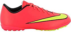 Nike Mercurial Victory V Tf Junior Astroturf Boots, Orange, Us4.5